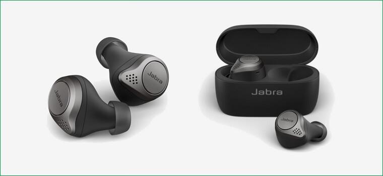 Jabra Elite 75t 充電ケースと本体