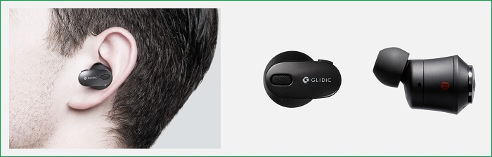 GLIDiC TW-9000 装着感